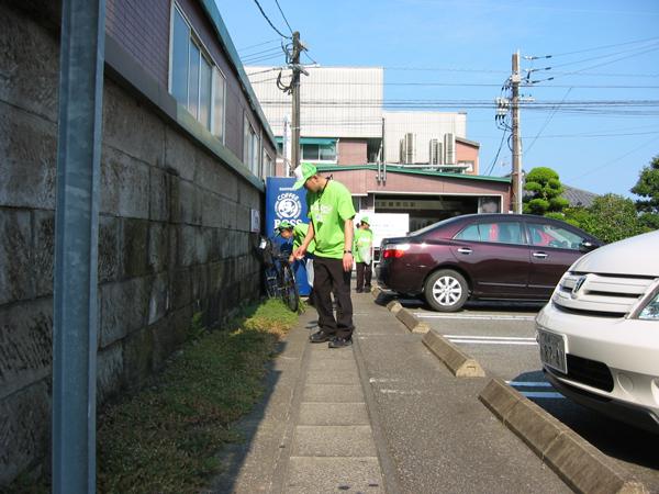 環境への取り組み「地域清掃」